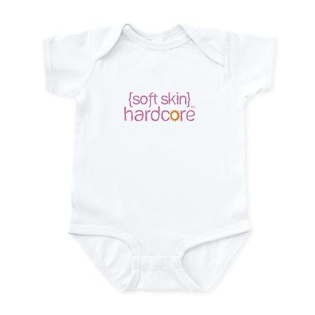 {soft skin} pink Infant Bodysuit