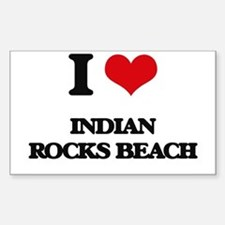 I Love Indian Rocks Beach Decal