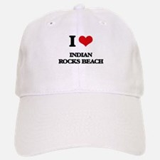 I Love Indian Rocks Beach Baseball Baseball Cap
