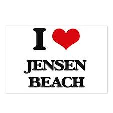 I Love Jensen Beach Postcards (Package of 8)