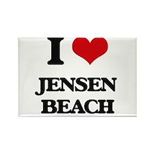 I Love Jensen Beach Magnets
