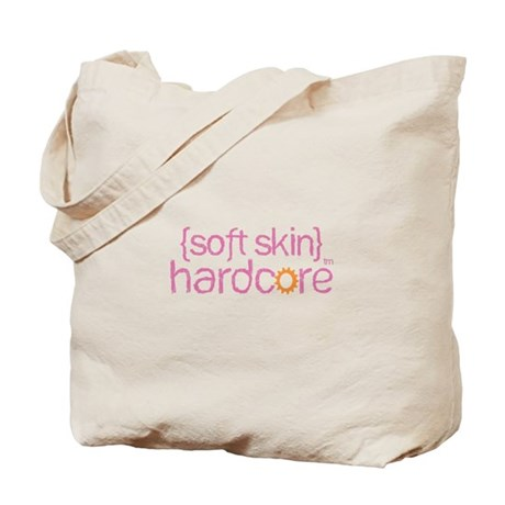 {soft skin} pink Tote Bag