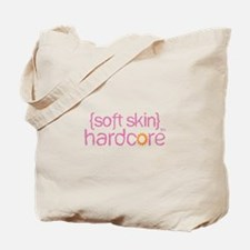 {soft skin} pink Tote Bag
