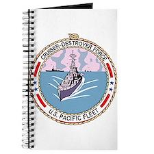 Cruiser Destroyer Force US Pacific Fleet M Journal