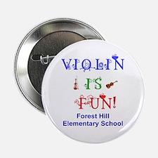 Personalized Violin is FUN! Button