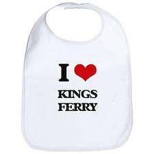 I Love Kings Ferry Bib