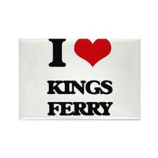 I Love Kings Ferry Magnets