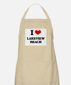 I Love Lakeview Beach Apron