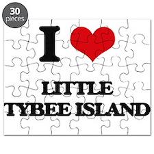 I Love Little Tybee Island Puzzle