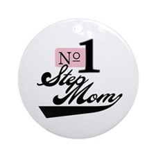 Number One StepMom Ornament (Round)