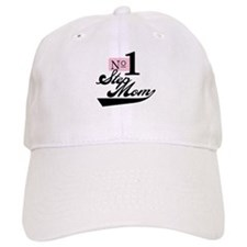 Number One StepMom Baseball Cap