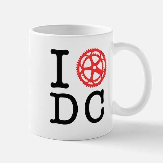 I Bike DC Mug