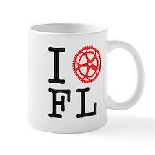 I Bike FL Small Mug