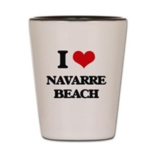 Cute Navarre beach florida Shot Glass
