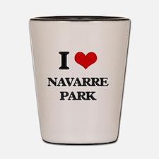 Navarre beach Shot Glass