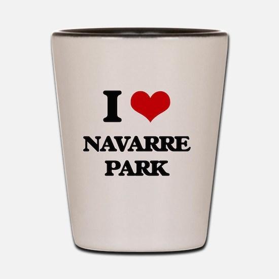 Navarre beach vacation Shot Glass