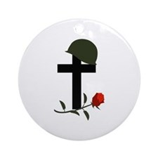 SOLDIERS GRAVE Ornament (Round)