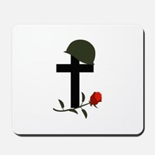 SOLDIERS GRAVE Mousepad