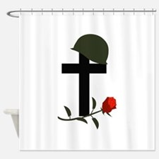 SOLDIERS GRAVE Shower Curtain