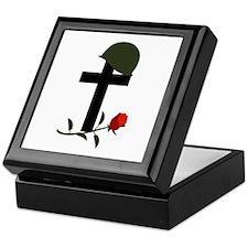 SOLDIERS GRAVE Keepsake Box