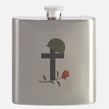 SOLDIERS GRAVE Flask