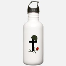 SOLDIERS GRAVE Water Bottle