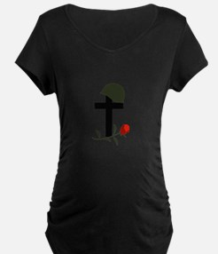 SOLDIERS GRAVE Maternity T-Shirt