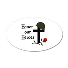 HONOR OUR HEROES Wall Decal