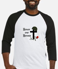 HONOR OUR HEROES Baseball Jersey