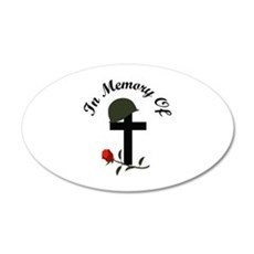 IN MEMORY OF Wall Decal