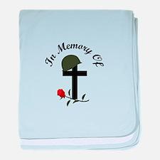 IN MEMORY OF baby blanket