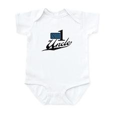 Number One Uncle Infant Bodysuit