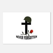 NEVER FORGOTTEN Postcards (Package of 8)