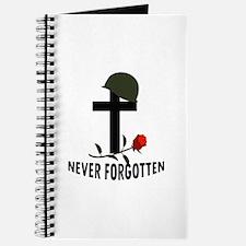NEVER FORGOTTEN Journal