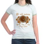 all wild creatures shall come Jr. Ringer T-Shirt