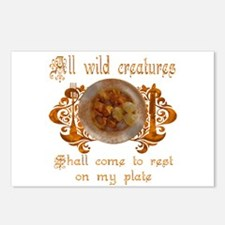 all wild creatures shall come Postcards (Package o