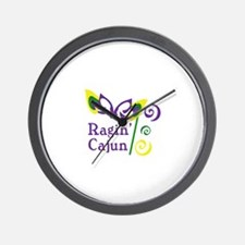 RAGIN CAJUN Wall Clock