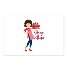 BAKER BABE Postcards (Package of 8)
