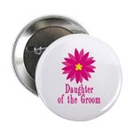 Cool Groom's Daughter Button