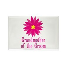 Groom's Grandmother Rectangle Magnet