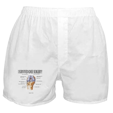 Knee Surgery Gift 3 Boxer Shorts