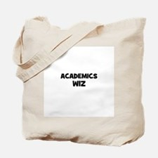 Academics Wiz Tote Bag