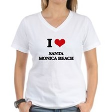 I Love Santa Monica Beach T-Shirt