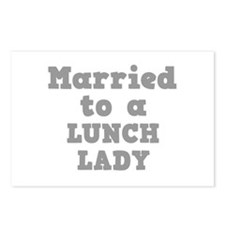 Married to a Lunch Lady Postcards (Package of 8)