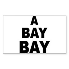 A Bay Bay Rectangle Decal