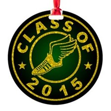 Class Of 2015 Track And Field Ornament