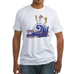 Tsunami Wave Walkers Fitted T-Shirt