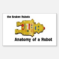 Anatomy of a Robot Rectangle Decal