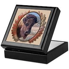 Great Buffalo Keepsake Box