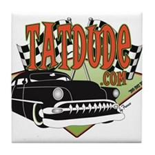 Tatdude Logo Tile Coaster